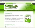 Redakční systém GreenHeaven CMS