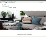 GET INSPIRED - obchod s bytovým designem